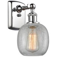 Innovations Lighting 516-1W-PC-G105-LED Belfast LED 6 inch Polished Chrome Sconce Wall Light, Ballston