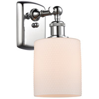 Innovations Lighting 516-1W-PC-G111 Cobbleskill 1 Light 5 inch Polished Chrome Sconce Wall Light Ballston