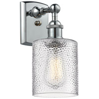 Innovations Lighting 516-1W-PC-G112-LED Cobbleskill LED 5 inch Polished Chrome Sconce Wall Light