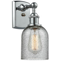 Innovations Lighting 516-1W-PC-G257 Caledonia 1 Light 5 inch Polished Chrome Sconce Wall Light