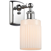 Innovations Lighting 516-1W-PC-G341 Hadley 1 Light 5 inch Polished Chrome Sconce Wall Light Ballston