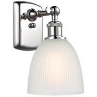 Innovations Lighting 516-1W-PC-G381-LED Castile LED 6 inch Polished Chrome Sconce Wall Light Ballston