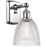 Innovations Lighting 516-1W-PC-G382-LED Castile LED 6 inch Polished Chrome Sconce Wall Light Ballston
