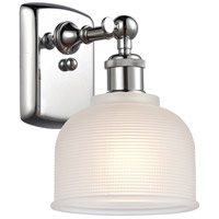 Innovations Lighting 516-1W-PC-G411-LED Dayton LED 6 inch Polished Chrome Sconce Wall Light Ballston