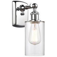 Innovations Lighting 516-1W-PC-G802 Clymer 1 Light 4 inch Polished Chrome Sconce Wall Light Ballston