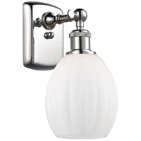 Innovations Lighting 516-1W-PC-G81-LED Eaton LED 6 inch Polished Chrome Sconce Wall Light Ballston