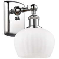 Innovations Lighting 516-1W-PC-G91-LED Fenton LED 7 inch Polished Chrome Sconce Wall Light Ballston