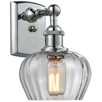 Innovations Lighting 516-1W-PC-G92-LED Fenton LED 7 inch Polished Chrome Sconce Wall Light Ballston
