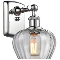 Innovations Lighting 516-1W-PC-G92-LED Fenton LED 7 inch Polished Chrome Sconce Wall Light Ballston