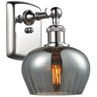 Innovations Lighting 516-1W-PC-G93-LED Fenton LED 7 inch Polished Chrome Sconce Wall Light