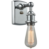 Innovations Lighting 516-1W-PC-LED Bare Bulb LED 5 inch Polished Chrome Sconce Wall Light Ballston