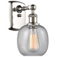 Innovations Lighting 516-1W-PN-G104 Belfast 1 Light 6 inch Polished Nickel Sconce Wall Light Ballston