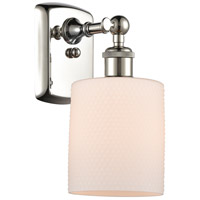 Innovations Lighting 516-1W-PN-G111 Cobbleskill 1 Light 5 inch Polished Nickel Sconce Wall Light, Ballston