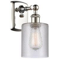 Innovations Lighting 516-1W-PN-G112 Cobbleskill 1 Light 5 inch Polished Nickel Sconce Wall Light Ballston