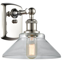 Innovations Lighting 516-1W-PN-G132-LED Orwell LED 9 inch Polished Nickel Sconce Wall Light Ballston