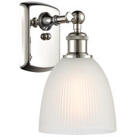 Innovations Lighting 516-1W-PN-G381-LED Castile LED 6 inch Polished Nickel Sconce Wall Light Ballston