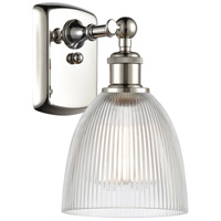 Innovations Lighting 516-1W-PN-G382-LED Castile LED 6 inch Polished Nickel Sconce Wall Light Ballston