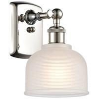 Innovations Lighting 516-1W-PN-G411-LED Dayton LED 6 inch Polished Nickel Sconce Wall Light Ballston