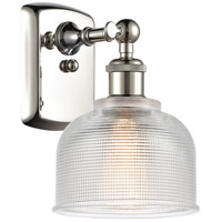 Innovations Lighting 516-1W-PN-G412-LED Dayton LED 6 inch Polished Nickel Sconce Wall Light Ballston