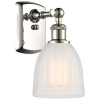 Innovations Lighting 516-1W-PN-G441-LED Brookfield LED 6 inch Polished Nickel Sconce Wall Light Ballston