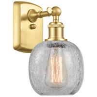 Innovations Lighting 516-1W-SG-G105-LED Belfast LED 6 inch Satin Gold Sconce Wall Light Ballston