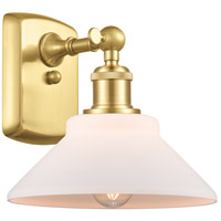 Innovations Lighting 516-1W-SG-G131 Orwell 1 Light 9 inch Satin Gold Sconce Wall Light