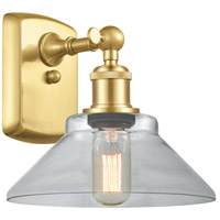 Innovations Lighting 516-1W-SG-G132 Orwell 1 Light 9 inch Satin Gold Sconce Wall Light
