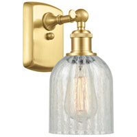 Satin Gold Steel Caledonia Wall Sconces