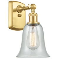 Innovations Lighting 516-1W-SG-G2812 Hanover 1 Light 6 inch Satin Gold Sconce Wall Light