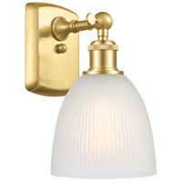 Satin Gold Steel Castile Wall Sconces