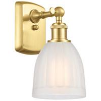 Innovations Lighting 516-1W-SG-G441 Brookfield 1 Light 6 inch Satin Gold Sconce Wall Light
