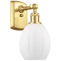 Innovations Lighting 516-1W-SG-G81 Eaton 1 Light 6 inch Satin Gold Sconce Wall Light