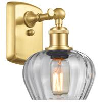 Innovations Lighting 516-1W-SG-G92 Fenton 1 Light 7 inch Satin Gold Sconce Wall Light