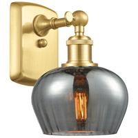 Innovations Lighting 516-1W-SG-G93 Fenton 1 Light 7 inch Satin Gold Sconce Wall Light