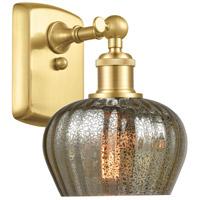 Innovations Lighting 516-1W-SG-G96 Fenton 1 Light 7 inch Satin Gold Sconce Wall Light