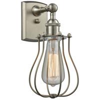 Innovations Lighting 516-1W-SN-513-LED Barrington LED 6 inch Brushed Satin Nickel Sconce Wall Light