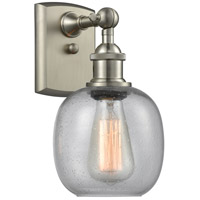 Innovations Lighting 516-1W-SN-G104-LED Belfast LED 6 inch Brushed Satin Nickel Sconce Wall Light Ballston