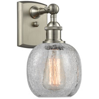 Innovations Lighting 516-1W-SN-G105-LED Belfast LED 6 inch Brushed Satin Nickel Sconce Wall Light Ballston