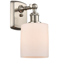 Innovations Lighting 516-1W-SN-G111-LED Cobbleskill LED 5 inch Brushed Satin Nickel Sconce Wall Light Ballston