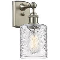 Innovations Lighting 516-1W-SN-G112-LED Cobbleskill LED 5 inch Brushed Satin Nickel Sconce Wall Light