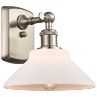 Innovations Lighting 516-1W-SN-G131 Orwell 1 Light 9 inch Brushed Satin Nickel Sconce Wall Light Ballston