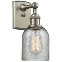 Innovations Lighting 516-1W-SN-G257-LED Caledonia LED 5 inch Brushed Satin Nickel Sconce Wall Light