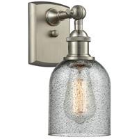 Innovations Lighting 516-1W-SN-G257 Caledonia 1 Light 5 inch Brushed Satin Nickel Sconce Wall Light