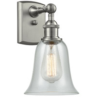 Innovations Lighting 516-1W-SN-G2812 Hanover 1 Light 6 inch Brushed Satin Nickel Sconce Wall Light Ballston