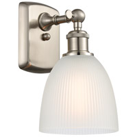 Satin Nickel Castile Wall Sconces