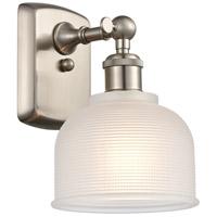 Innovations Lighting 516-1W-SN-G411-LED Dayton LED 6 inch Satin Nickel Sconce Wall Light Ballston