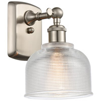 Innovations Lighting 516-1W-SN-G412 Dayton 1 Light 6 inch Brushed Satin Nickel Sconce Wall Light Ballston