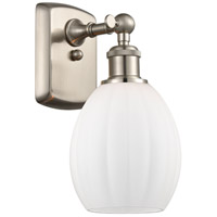 Innovations Lighting 516-1W-SN-G81 Eaton 1 Light 6 inch Brushed Satin Nickel Sconce Wall Light Ballston