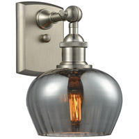Innovations Lighting 516-1W-SN-G93-LED Fenton LED 7 inch Brushed Satin Nickel Sconce Wall Light