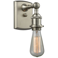 Innovations Lighting 516-1W-SN-LED Bare Bulb LED 5 inch Brushed Satin Nickel Sconce Wall Light